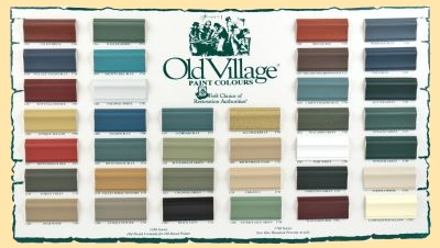 Victorian Wall Colors old village paints - mattson's flooring & window treatments